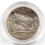 2006 Colorado Proof Quarter - San Francisco Mint