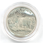 2006 North Dakota Proof Quarter - San Francisco Mint