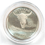 2007 Montana Proof Quarter - San Francisco Mint