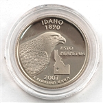 2007 Idaho Proof Quarter - San Francisco Mint