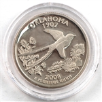 2008 Oklahoma Proof Quarter - San Francisco Mint