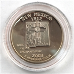 2008 New Mexico Proof Quarter - San Francisco Mint