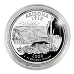 2008 Arizona Proof Quarter - San Francisco Mint