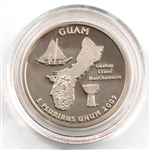 2009 Guam Proof Quarter - San Francisco Mint