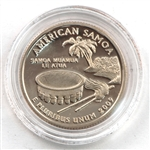 2009 American Samoa Proof Quarter - San Francisco Mint