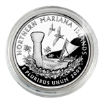 2009 Mariana Islands Proof Quarter - San Francisco Mint