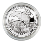 2010 Yellowstone (Wyoming) Proof Quarter - San Francisco Mint