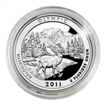2011 Olympic (Washington) Proof Quarter - San Francisco Mint