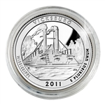 2011 Vicksburg (Mississippi)  Proof Quarter - San Francisco Mint