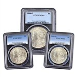 'Anaheim' New Orleans Morgan Dollar Hoard - Certified PCGS 64