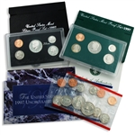 1997 Proof & Mint Set Trio - Clad & Silver