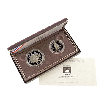 1989 Congressional Commemorative 2 pc Set - Proof
