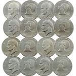 The Complete Bicentennial Eisenhower Dollar Set - 8 Coins