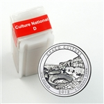 2012 Chaco Culture Quarter Roll - Denver Mint - Uncirculated