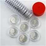 Last 20 S Mint Jefferson Nickel Proofs 94 to 11 w/ Capsule Tube