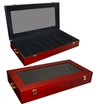 Wooden Display Chest - 56 Lenses