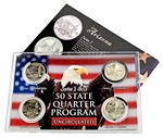 Arizonia Series 1 & 2 - 4pc Quarter Set- UNC
