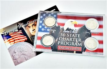 Pennsylvania Series 1 & 2 - 4pc Quarter Set- UNC
