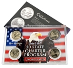 Oklahoma Series 1 & 2 - 4pc Quarter Set- UNC