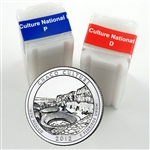 2012 Chaco Culture Quarter Rolls - Philadelphia & Denver Mints - Uncirculated