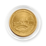 2012 Chaco Culture Qtr - Philadelphia - Gold in Capsule