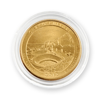 2012 Chaco Culture Qtr - Denver - Gold in Capsule