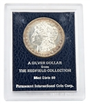 1880 Morgan Silver Dollar - San Francisco - Redfield Hoard - MS60