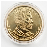 2012 Chester Arthur Dollar - Denver - Uncirulated in a capsule