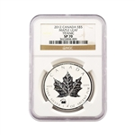 2012 Canadian Maple Leaf with Titanic Privy - NGC SP70
