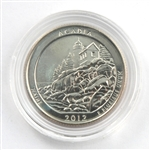 2012 Acadia Quarter - Philadelphia  - Uncirculated in Capsule
