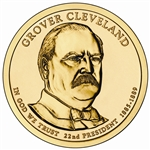 2012 Grover Cleveland 1st Term - Presidential Dollar - Platinum - Denver