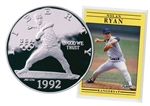 1992 Baseball Silver Dollar - Proof