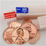 2010-12 Lincoln Shield Cent P & D Rolls - 6 Rolls – Uncirculated