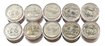 2006 50 States Quarters Collector Roll Set – 10 P / 10 D - Uncirculated