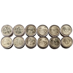 2009 50 States Quarters Collector Roll Set – 10 P / 10 D - Uncirculated