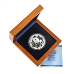 2012 China Mint 1 oz Silver Panda - ANA World's Fair of Money