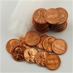 1990 Lincoln Memorial Cent P & D Rolls - Uncirculated
