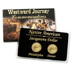 2012 Sacagawea Native American Dollar - P and D - 2pc