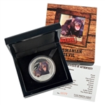 2013 Perth Mint Endangered Series - Tasmanian Devil - Silver