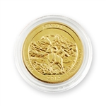 2012 Alaska Denali Qtr - Denver - Gold in Capsule