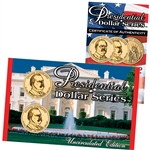 2012 Presidential Dollar P & D Lens - Cleveland 2nd Term