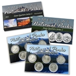 2012 National Parks Quarter Mania Set - P & D