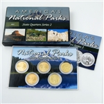 2012 National Parks Quarter Mania Set - Gold Philadelphia