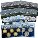 2012 National Parks Quarter Mania Set - P D & Gold