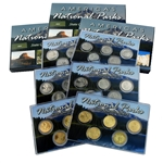 2012 National Parks Quarter Mania Uncirculated Set - Ultimate (6 Sets)