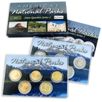 2012 National Parks Quarter Mania Set - San Francisco - Uncirculated & Gold Layered