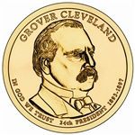 2012 Grover Cleveland 2nd Term -  Dollar - Philadelphia - Uncirculated in a capsule