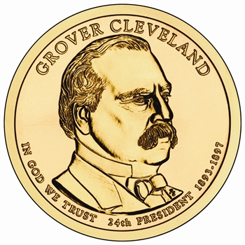 2012 Grover Cleveland 2nd Term -  Dollar - Denver - Uncirculated in a capsule