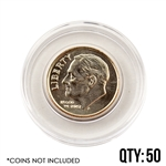 Coin Capsule - Dime 18 mm - Qty 50