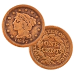 United States Large Cent - Circulated
